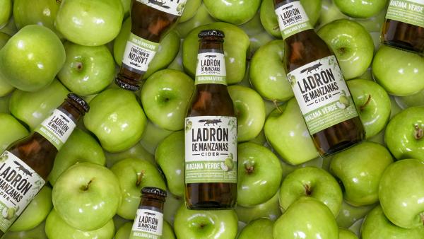 Ladrón de Manzanas manzana verde