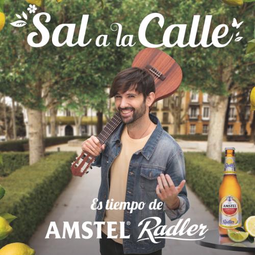 Sal a la calle en primavera con Amstel Radler